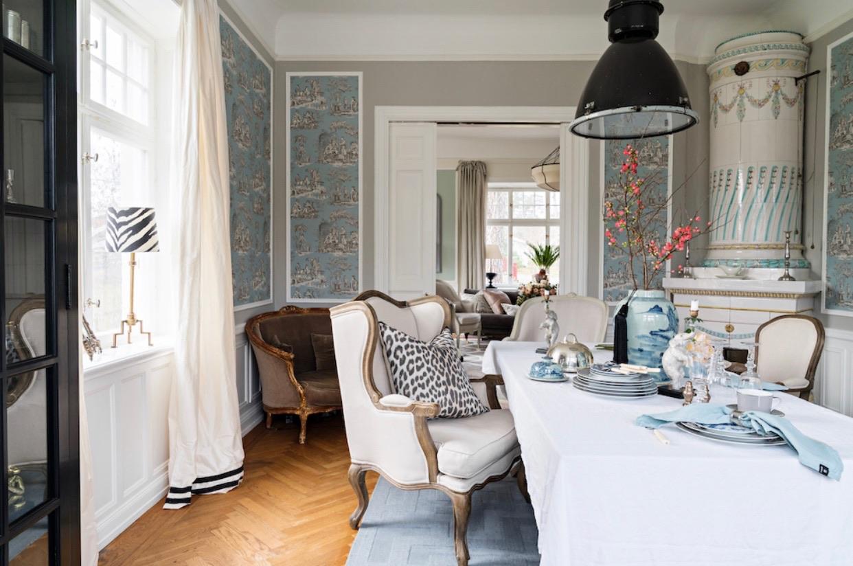 Grått Teppe fra Layered, dekoratør Sofia Tretow fra Sverige