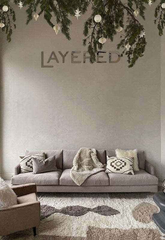 Layered Slow christmas Showroom