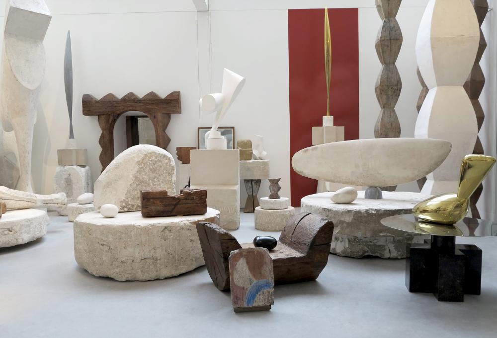 Layered Constantin Brâncuși Atelier Paris