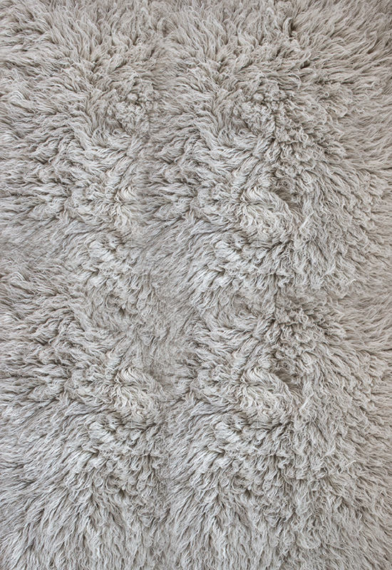 Layered Shaggy Rug Mocha Melange
