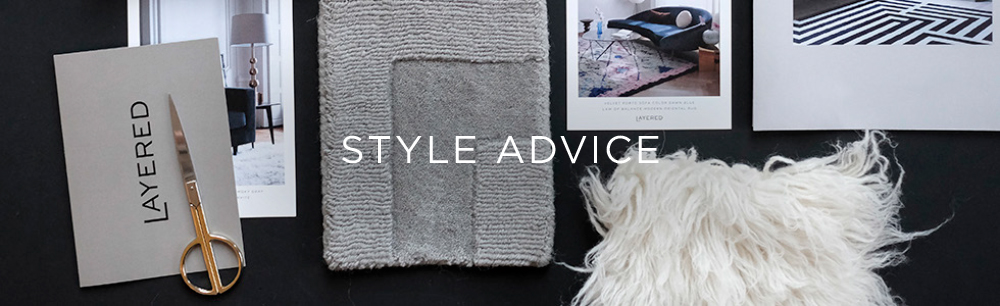 Layered Styling advise for rugs and sofas living room bedroom and dining room