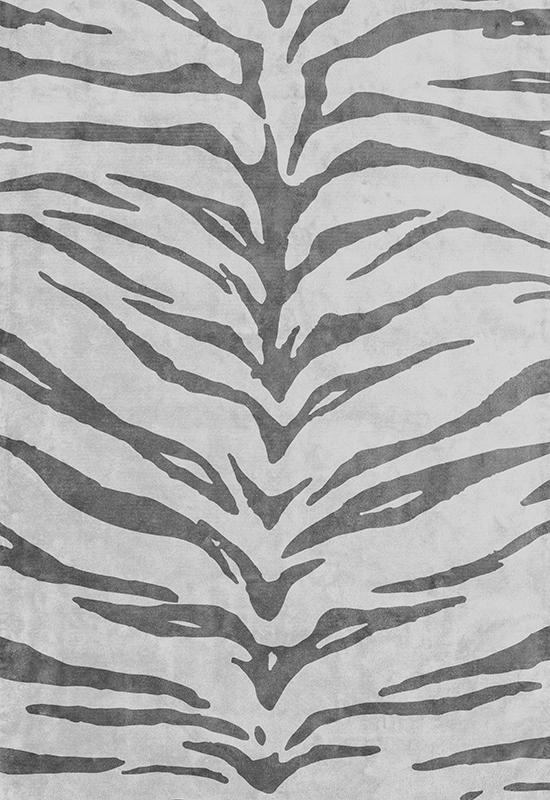 Mønstret teppe fra Layered, teppe i viskose