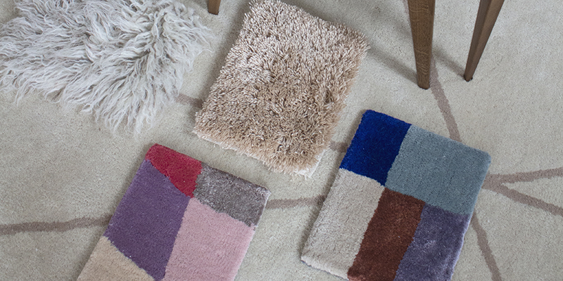 Layered Custom Size Rugs