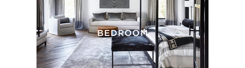 Layered styling advise for rugs in bedroom